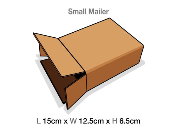Brown Mailing Cartons to suit Small Luxury Gift boxes