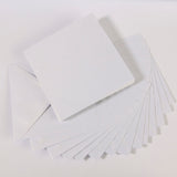 Pearlescent Envelopes Square Snow White, Pack 1000