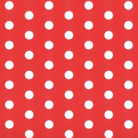 Red Super Spot Novelty Counter Roll (250m x 70cm)