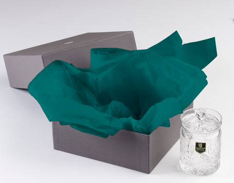 Kudos Premium Quality Teal Blue Tissue Paper (Flat ream pack)