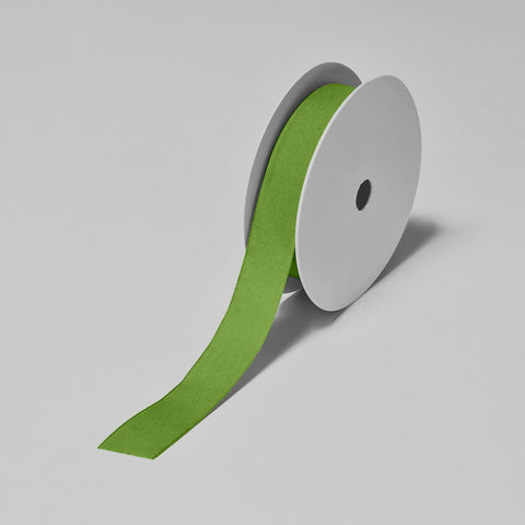 Biodegradable Tencel Ribbon - Apple Green