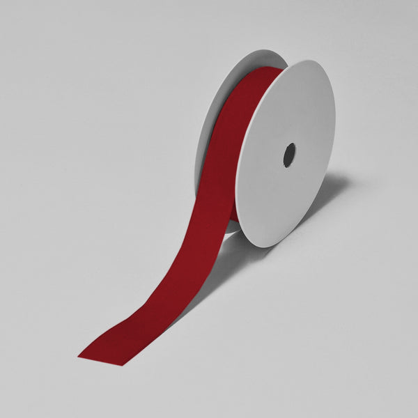 Biodegradable Tencel Ribbon - Cherry Red