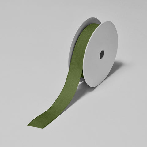 Biodegradable Tencel Ribbon - Green