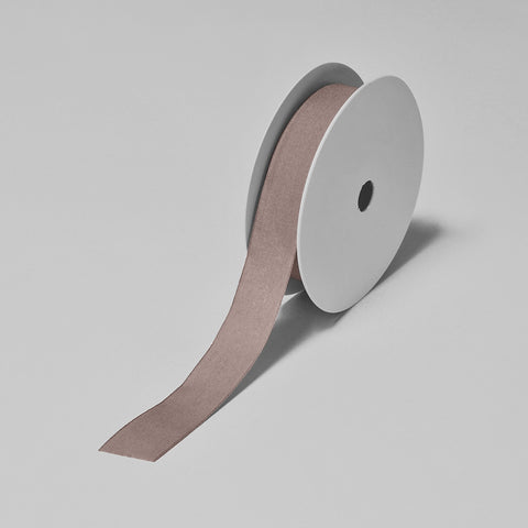 Biodegradable Tencel Ribbon - Light Brown