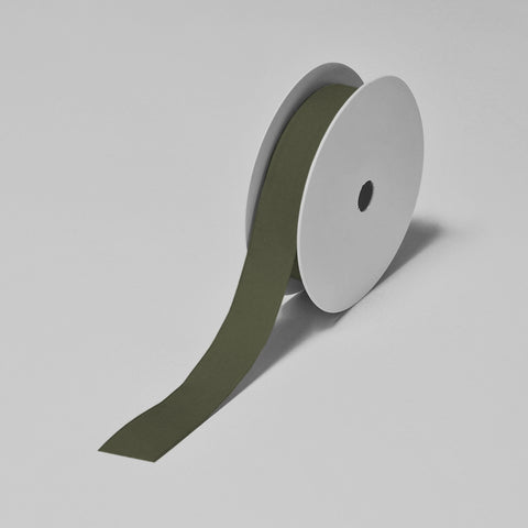 Biodegradable Tencel Ribbon - Olive