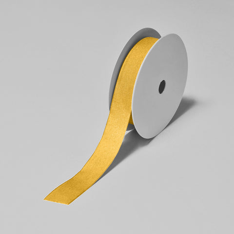 Biodegradable Tencel Ribbon - Orange