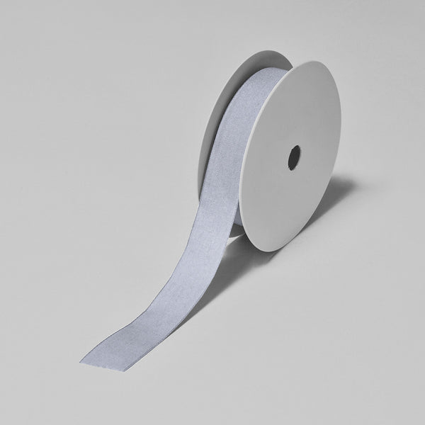 Biodegradable Tencel Ribbon - Silver