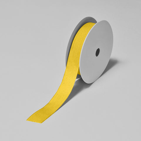 Biodegradable Tencel Ribbon - Yellow