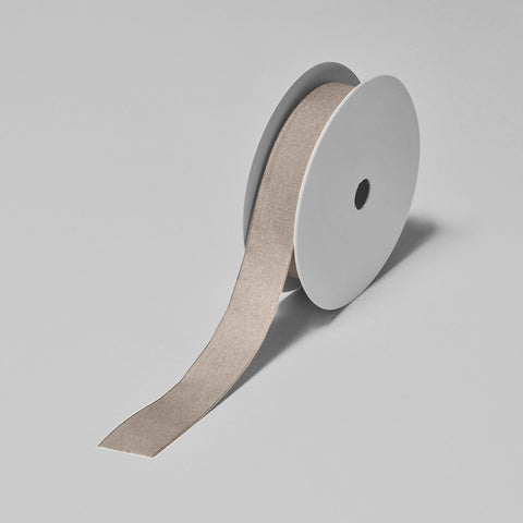 Biodegradable Tencel Ribbon - Natural Cream