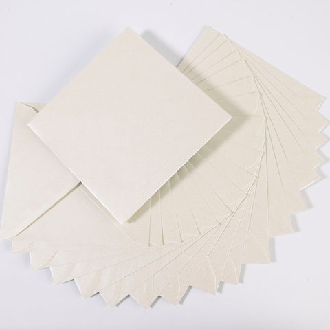 Pearlescent Envelopes Square White, Pack 1000