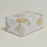Woodland in Gold/Silver Counter Roll (100m x 50cm)