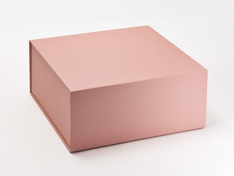 XL Deep Pearlescent Rose Gold Luxury Gift box with magnetic closure (Pack of 12)
