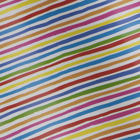 Bright Stripe Colourific Counter Roll (250m x 30cm)