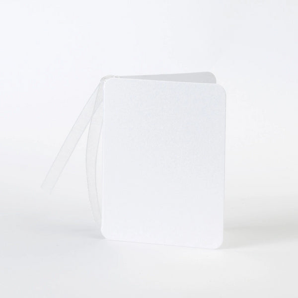 Luxury Pearl White Gift Tags (25)