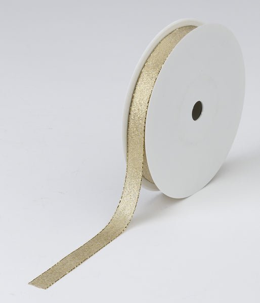 Gold Woven Ribbon (15mm x 50m)