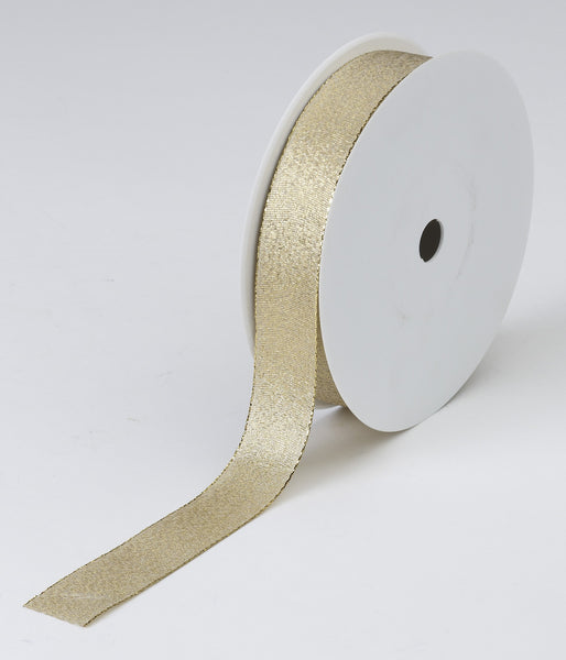 Gold Woven Ribbon (25mm x 50m)