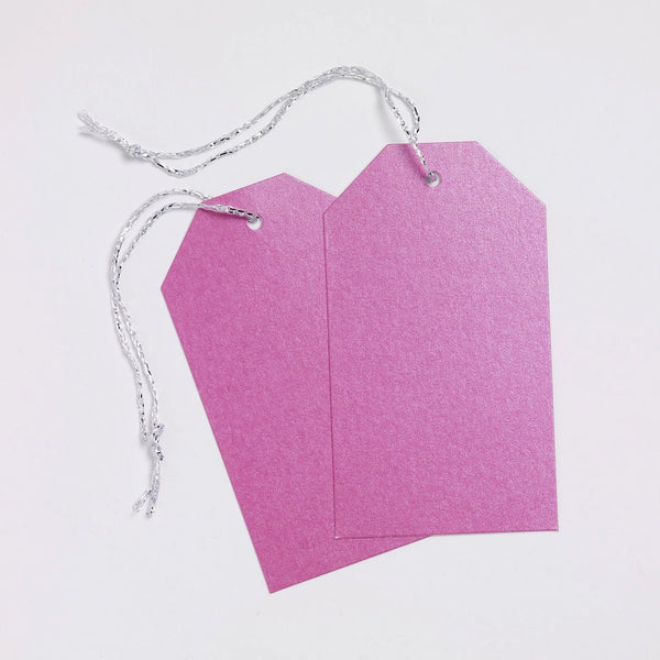 Luggage Pearl Fuchsia Gift Tags (50)