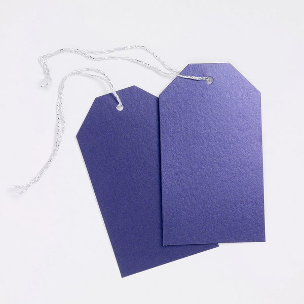 Luggage Pearl Deep Purple Gift Tags (50)