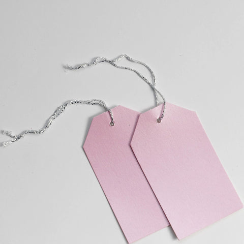 Luggage Pearl Pastel Pink Gift Tags (50)