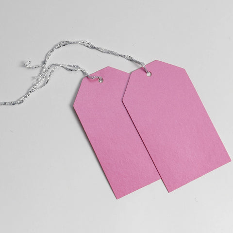 Luggage Pearl Pink Gift Tags (50)