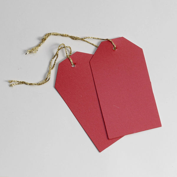Luggage Pearl Red Gift Tags (50)