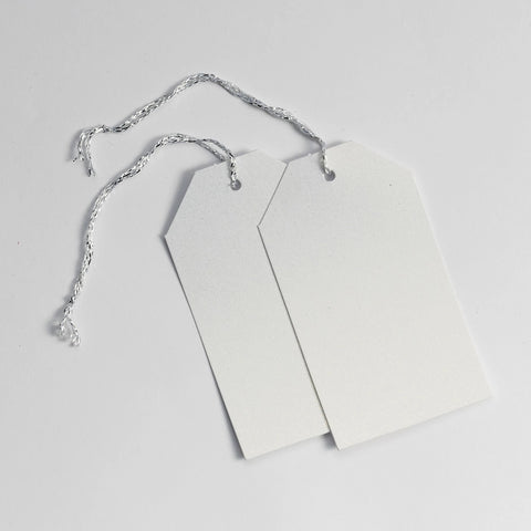 Luggage Pearl White Gift Tags (50)