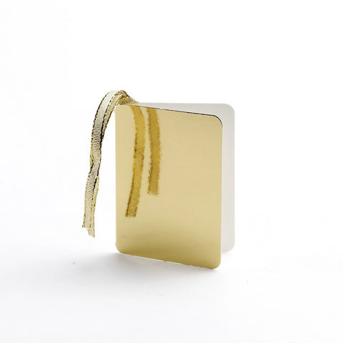 Luxury Gloss Gold Gift Tags (25)