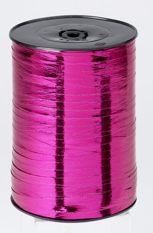 Metallic Cerise Curling Ribbon (5mm x 500m)