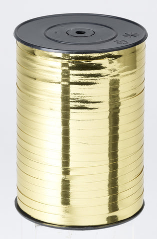 500M WHITE SATIN CURLING RIBBON 7MM WIDE