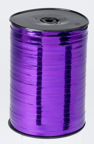 Metallic Purple Curling Ribbon (5mm x 500m)