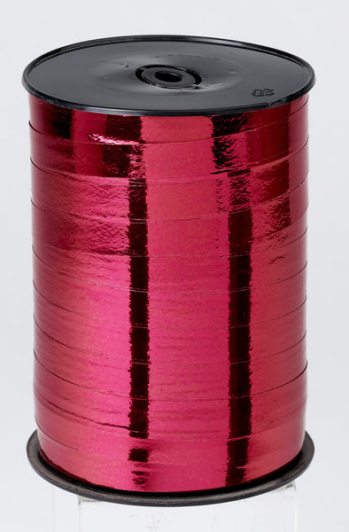 Metallic Red Curling Ribbon (10mm x 250m)