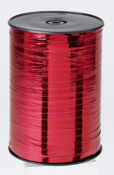 Metallic Red Curling Ribbon (5mm x 500m)