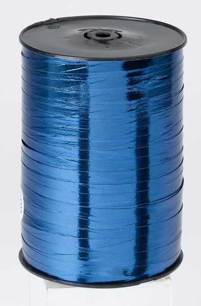 Metallic Blue Curling Ribbon (5mm x 500m)