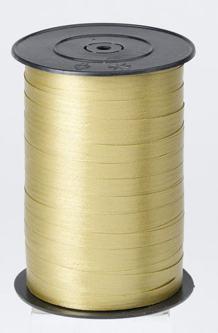 Paporlene Gold Curling Ribbon (7.5mm x 250m)