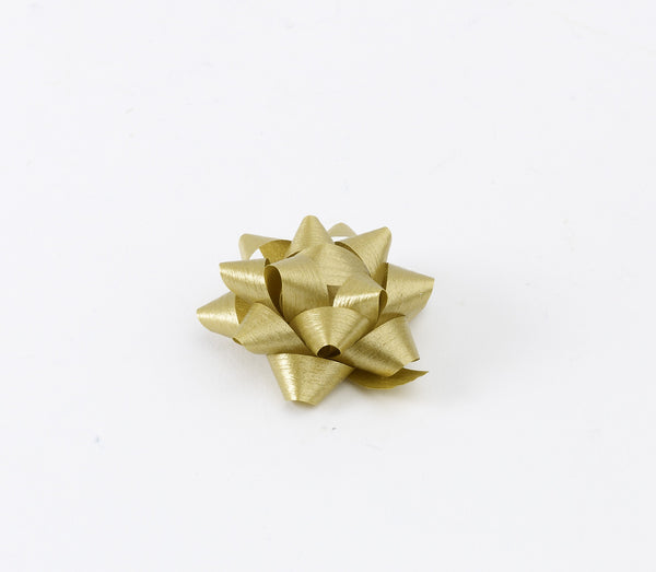 Paporlene Gold Small Bows (50)