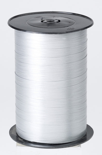 Paporlene Silver Curling Ribbon (7.5mm x 250m)