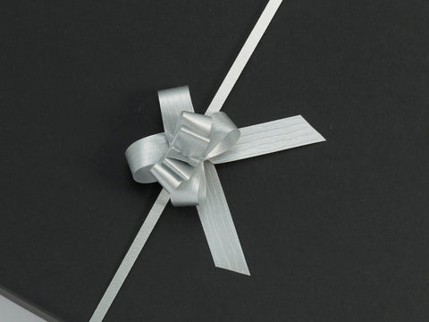 Paporlene Silver Small Pull Bows