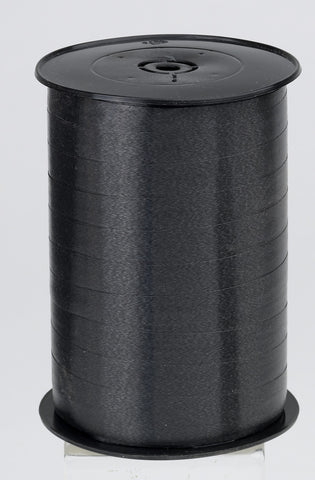 Plain Black Curling Ribbon (10mm x 250m)
