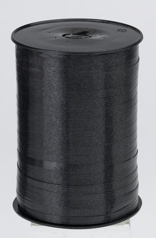 Plain Black Curling Ribbon (5mm x 500m)