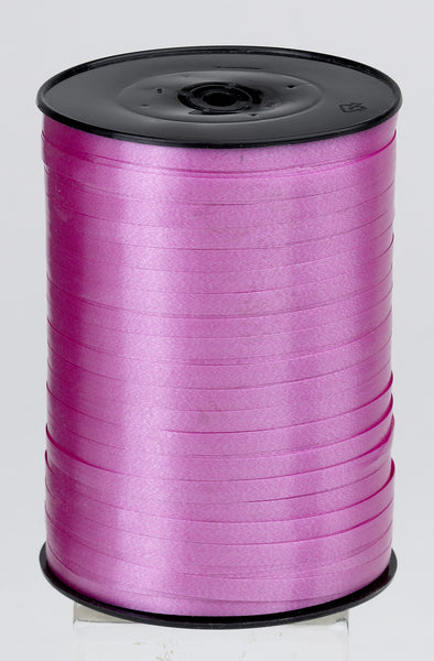 Plain Cerise  Curling Ribbon (5mm x 500m)
