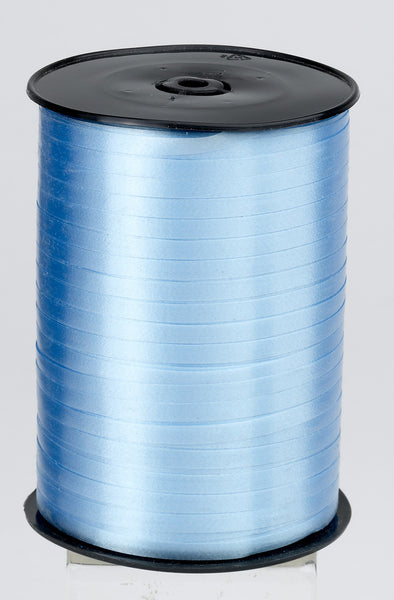 Plain Pale Blue Curling Ribbon (5mm x 500m)
