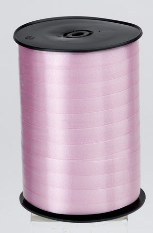 Plain Pale Pink Curling Ribbon (10mm x 250m)