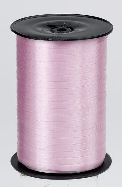Plain Pale Pink Curling Ribbon (5mm x 500m)