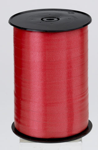 Plain Red Curling Ribbon (10mm x 250m)