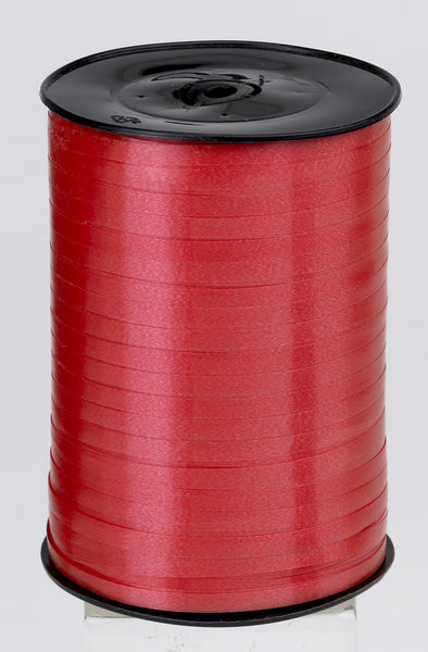 Plain Red Curling Ribbon (5mm x 500m)