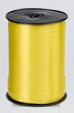 Plain Yellow Curling Ribbon (5mm x 500m)