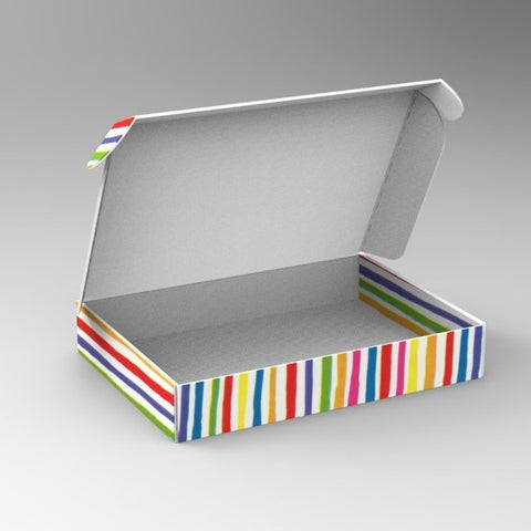 Bright Stripe Home-Shopping Packaging 1 (Min. Order 500)