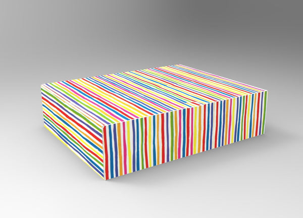 Bright Stripe Colourific Home-Shopping Packaging 4, (Min. Order 750)