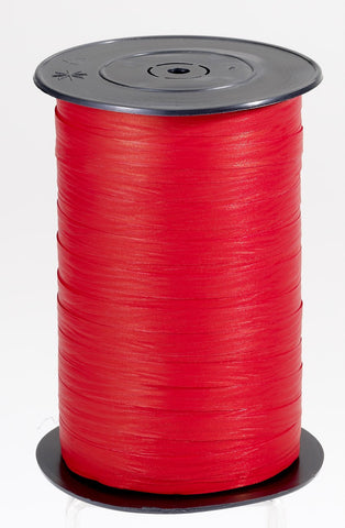 Paporlene Red Curling Ribbon        (7.5mm x 250m)