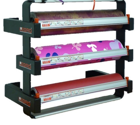 Triple Under-Counter Dispenser (Takes 3 x 50cm Width Counter Rolls)